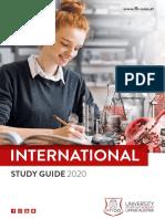 Fhooe Studyguide International 2020 21