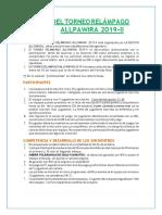Bases Del Campeonato Allpawira Final