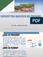 2.- Conceptos Basicos de Presión