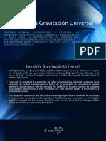 1.5. Ley de La Gravitación Universal