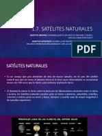 1.7. Satélites Naturales