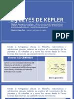1.3 Leyes de Kepler