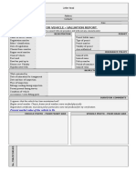 Valuation Report Format