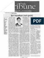 Daily Tribune, Nov. 6, 2019, Bar marathon (notsprint).pdf