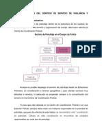 Estructura Del Servicio de Servicio de Vigilancia y Patrullaje