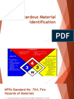 Hazardous Material Identification