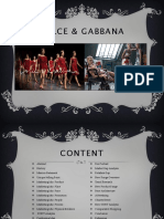 Dolce Gabbana Final Project