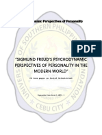 Psychodynamic Perspectives of Personality COVER PAGE.docx