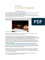 Property Management Agreement Guide