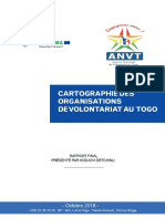 Cartographie des organisation de volontariat au togo