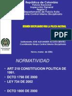 Nuevo Sistema Disciplinario 2006