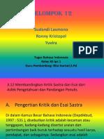 Bahasa Indo Kel12