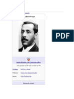 Biografia Jorge Polar Vargas
