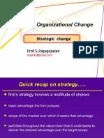 Strategic Change - Managing Organizational Change