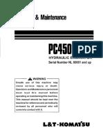 PC450LC-7 Operation & Maintenance Manual