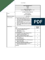 Course Outline [FEM 1023]