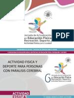 Educación física para personas con paralisis cerebral
