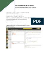 Practica Instalacion Netbeans en Ubuntu
