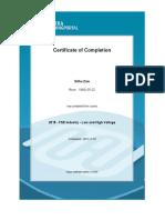 FSE LV&HV CourseCertificate