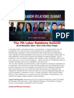 The 7th Labor Relations Summit