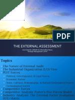 The External Environment Assessment