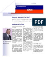 Informe de Haiti julio 08