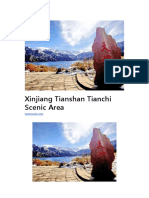 Xinjiang Tianshan Tianchi Scenic Area