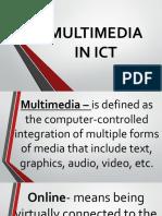 Multimedia in Ict