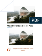 Maiji Mountain Scenic Area