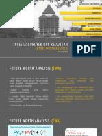 Kelompok 2 Future Worth Investasi Proyek Dan Keuangan 10092019