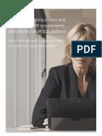 Microsoft SQL and the Gdpr