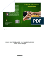 Food Security and Social Inclusion by Dr.siddaraju VG