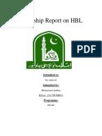 Shahbaz Internship Report