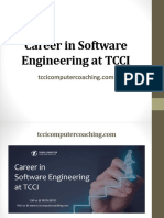 Career in Software Engineering at Tcci