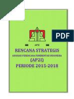 Rencana Strategis AP2I 2015-2018