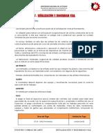 7) Especificaciones Tecnicas 07 Señalizacion y Seguridad Vial
