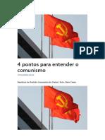 4 Pontos Para Entender o Comunismo