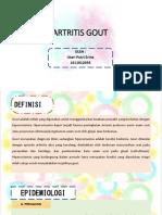80507 Artritis Gout