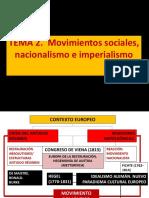 2. 1. Movimiento Nacionalista