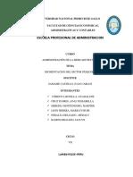 SECTOR PESQUERO Pesca Industrial