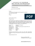 Surat Permohonan Cetak Sertifikat NPSN