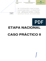 Caso II Etapa Nacional(0)