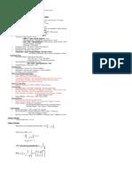 Chapter 1-6 Formula