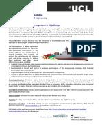 BMT PhD Studentship Advert GA Optimisation Ver1.2