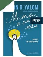Mama Si Sensul Vieţii - Irvin D. Yalom
