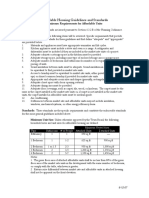 Affordable Housing Guidelines and Standards Davidson