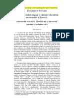 Documentul Ravenna, 13 octombrie 2007