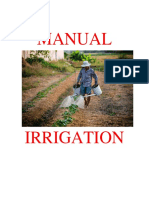 Manual Irrigation