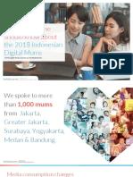 Indonesian Digital Mum Survey 2018-Presentation Deck
