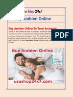 Buy Ambien Online :